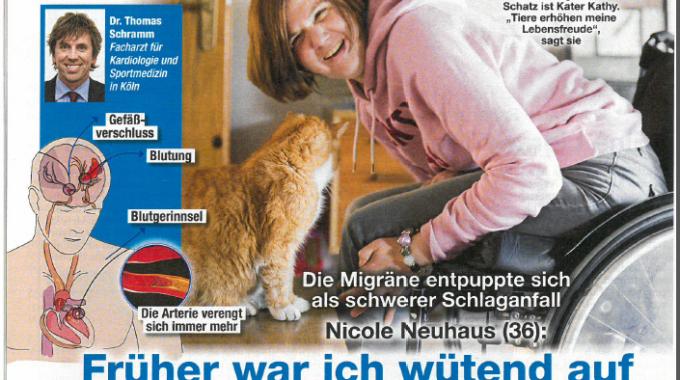 """Artikel In Der Zeitschrift """"Woche Der Frau"""