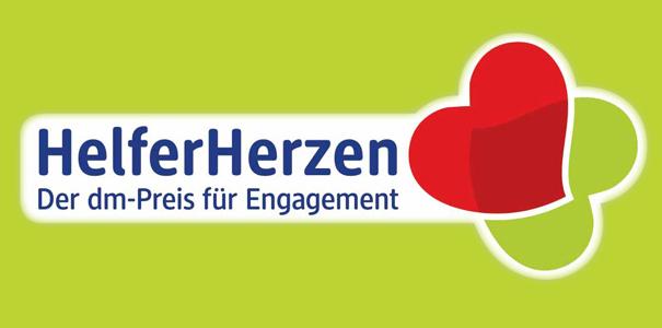"""Aktion """"Helferherzen"""" DM-Preis Für Engagement"""