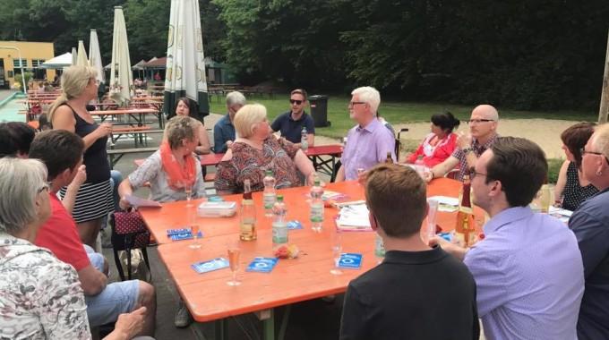 Parkbad-Grillen Am 23.Mai 2017